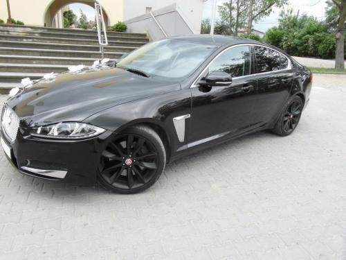 Jaguar XF na ślub