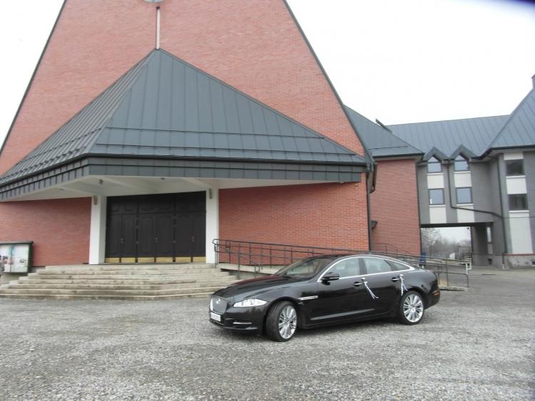 Jaguar XJ ślub w Krakowie